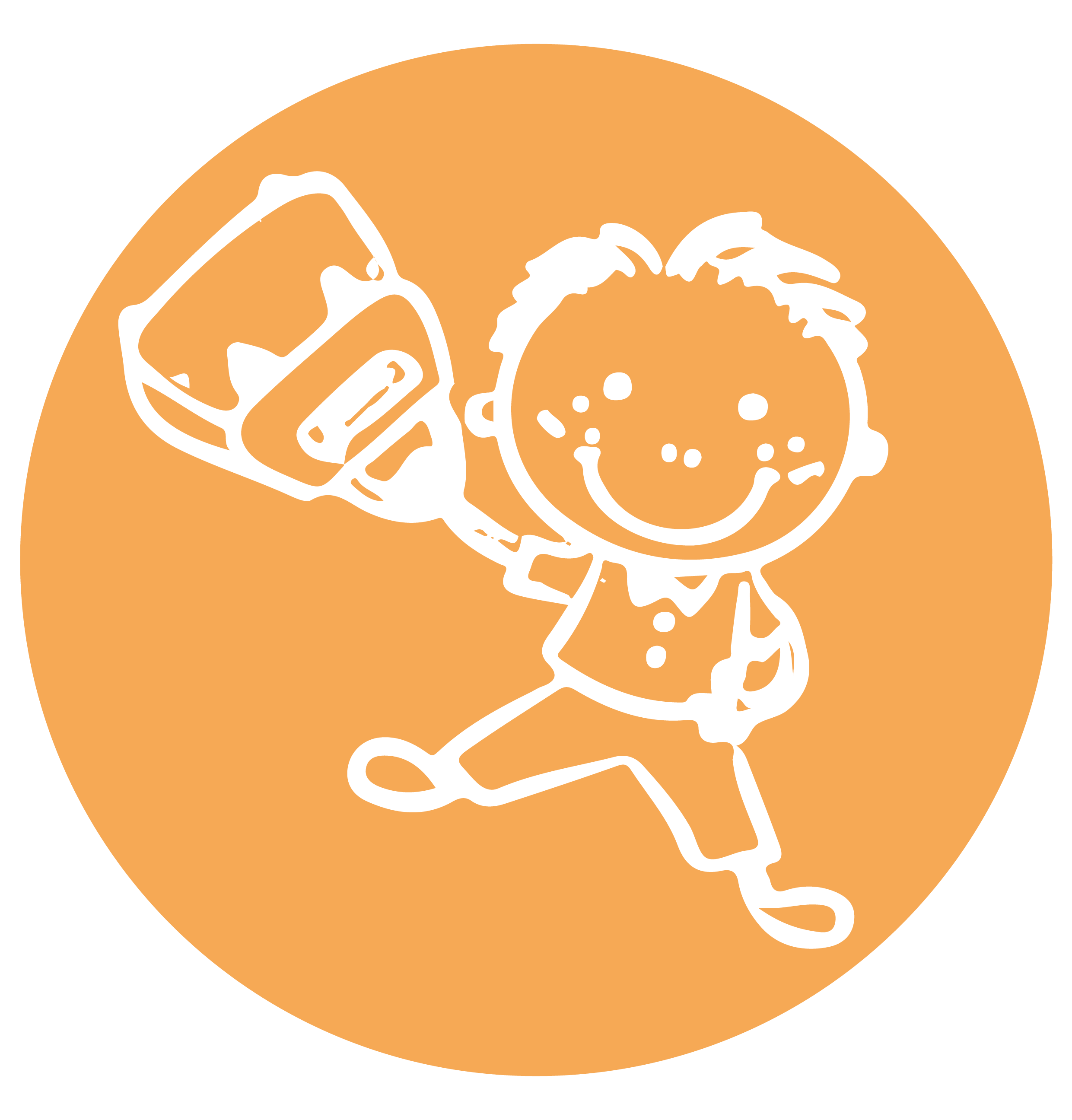 Image illustrant un enfant tenant un sac-à-dos