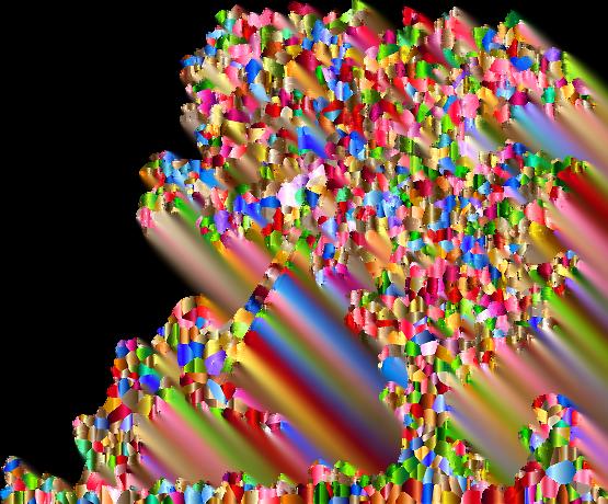 Peinture de deux enfants jouant à la balançoire d'un arbre