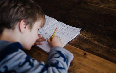L'organisation des devoirs à la maison